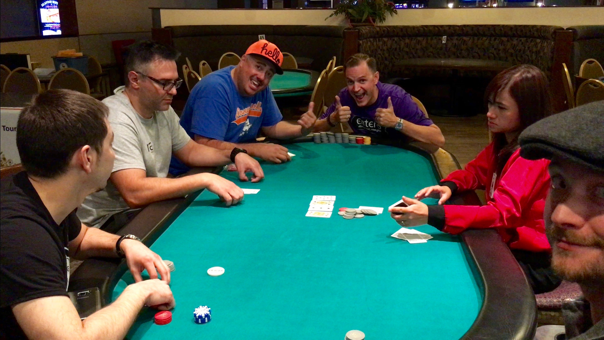 Me at the final table with STAXXX!