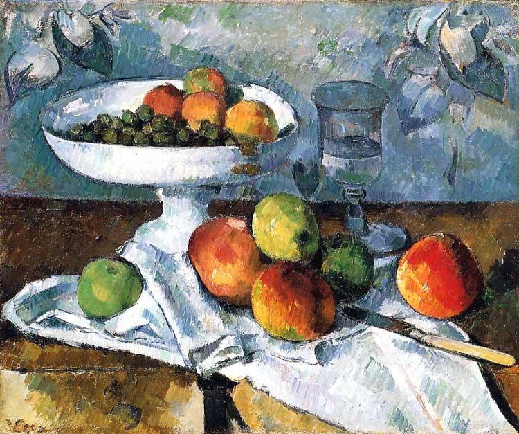 Still Life with Compotier, Paul Cézanne