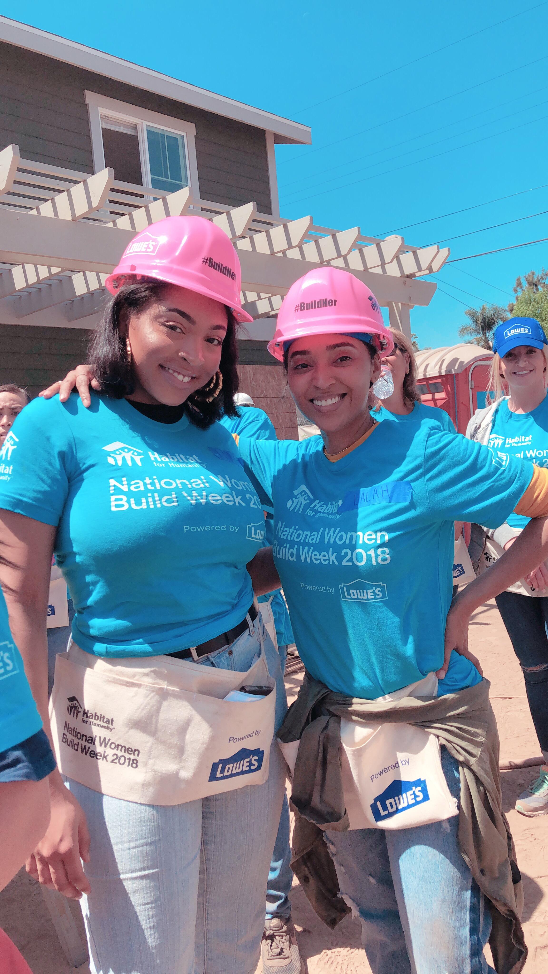 National Women Build Week 2018 | Los Angeles