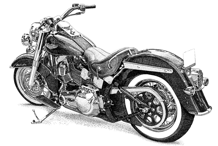 View Harley Illustrations