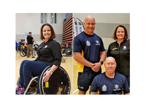 AMWC Perth Choir Director Victoria was privileged to attend an Invictus Team Australia training session in the lead up to the Invictus Games Sydney 2018.