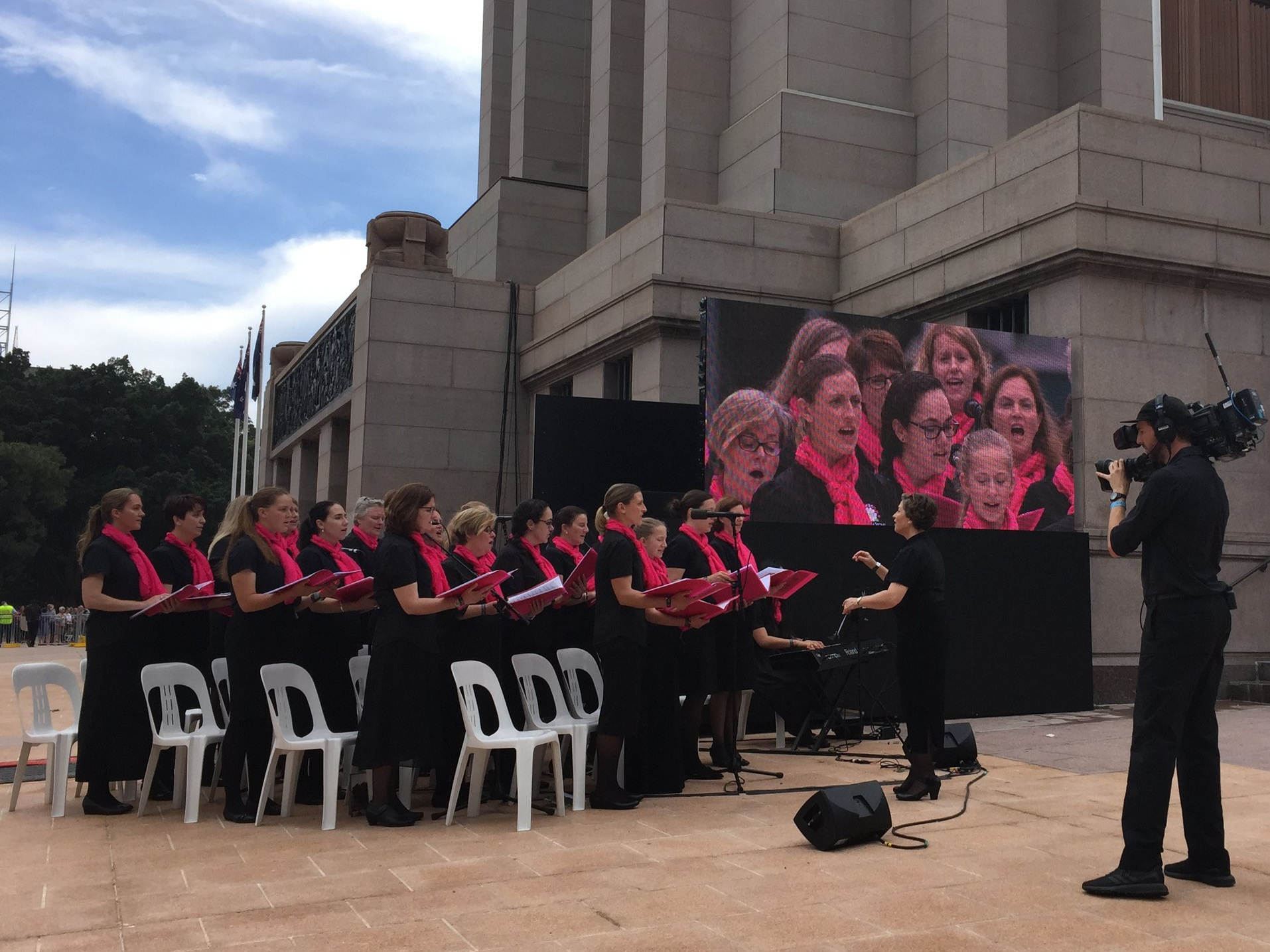 ANZAC Memorial Centenary Project Opening, Hyde Park Sydney, October 2018