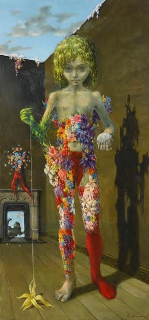 Dorothea Tanning, The Magic Flower Game, 1941