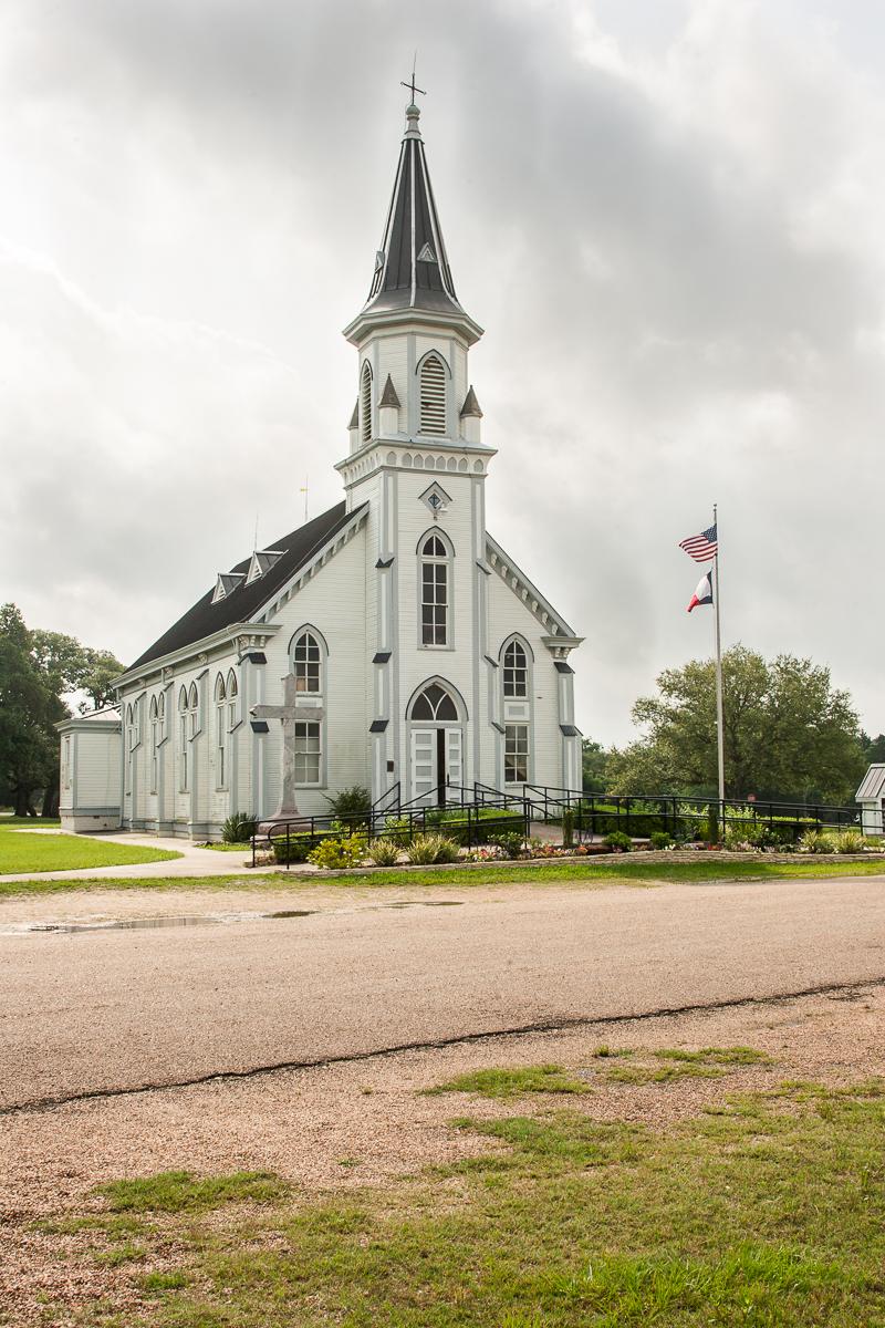 HPS Painted Church Schulenburg TX-10