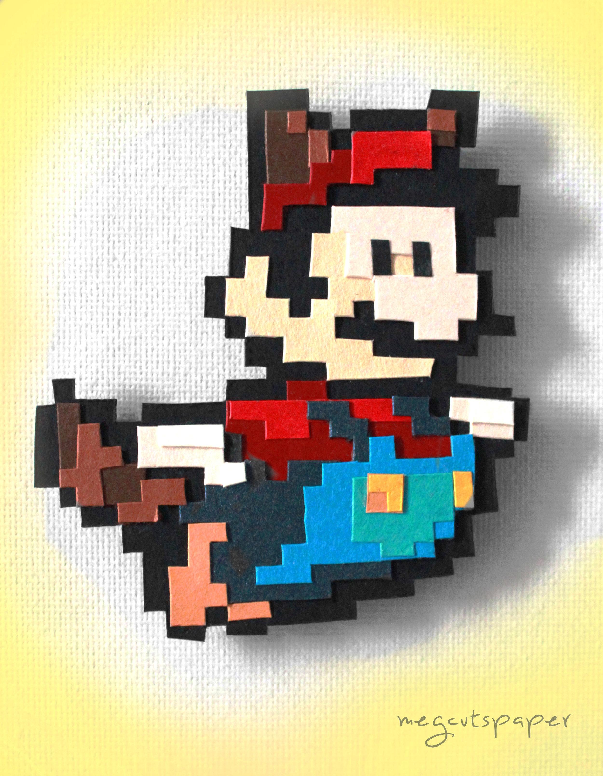 Megcutspaper_Mario_Magnet_Papercut.jpg