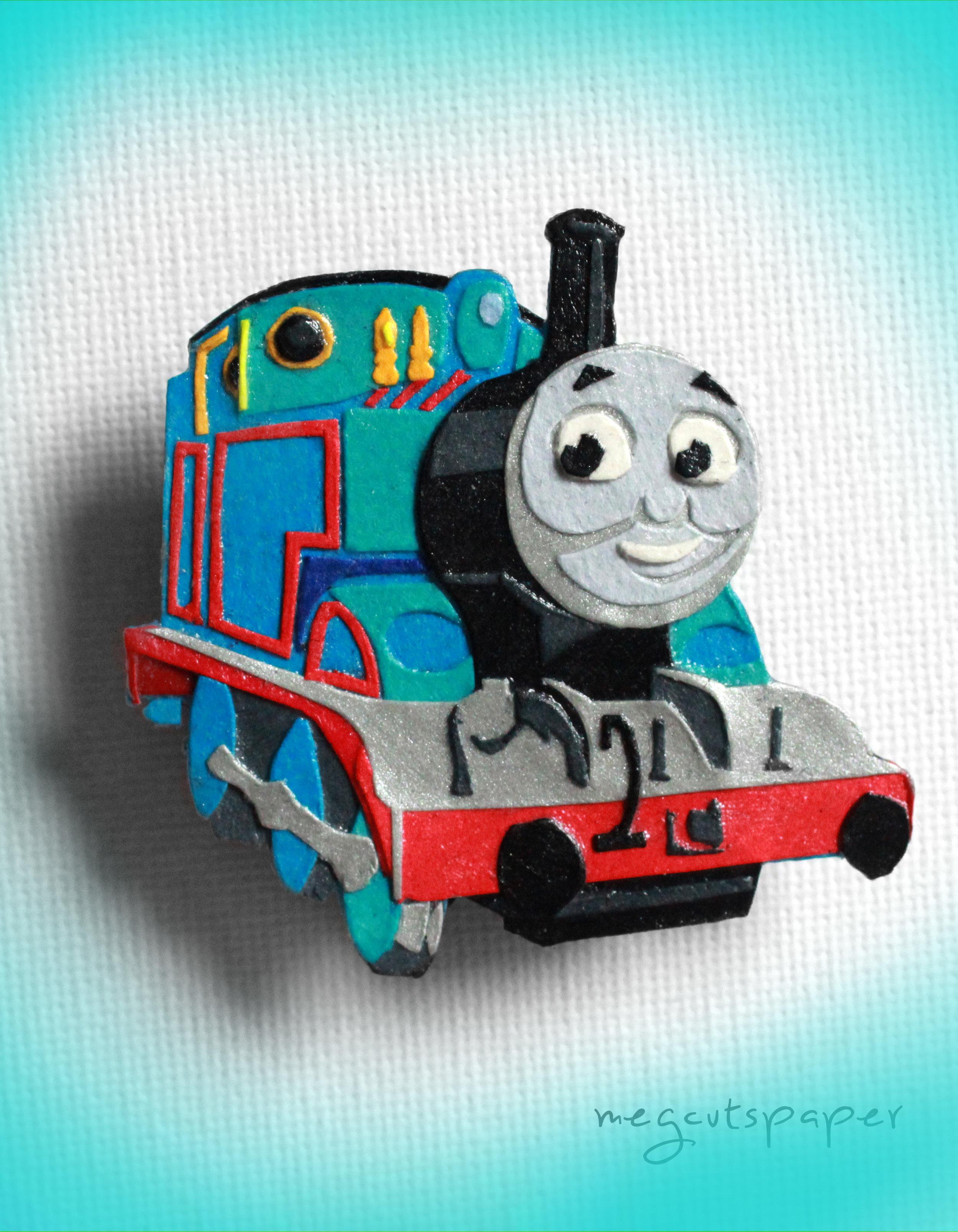 Megcutspaper_ThomasTheTankEngine_Train_Manget.jpg