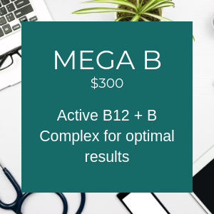 Mega B $300 Active B12 + B complex for optimal results