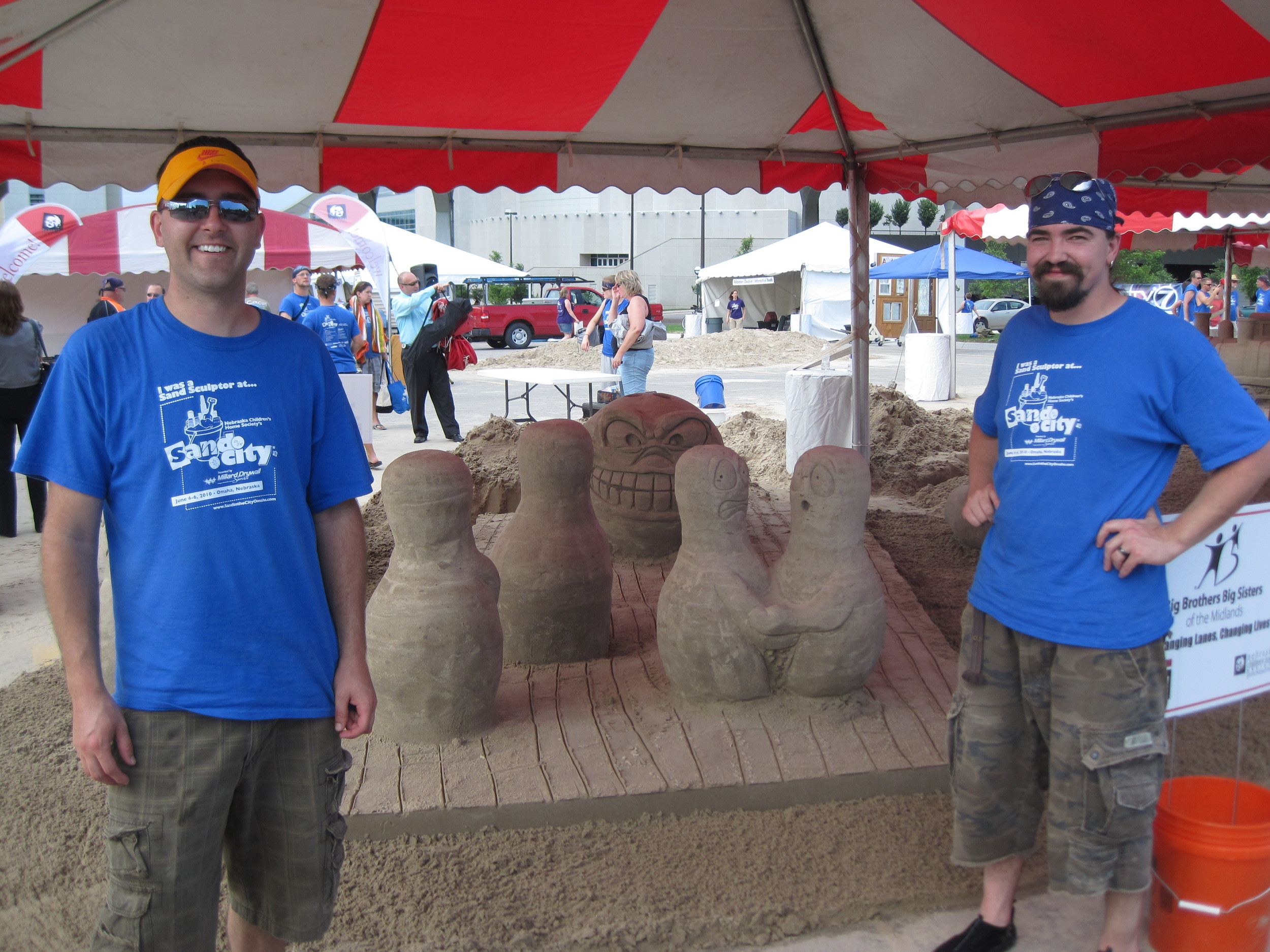 2011 Sand in the City - 3rd Place