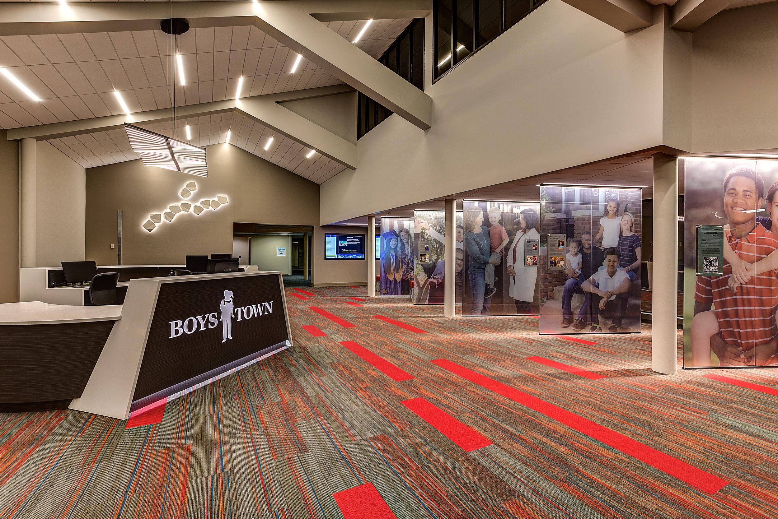 Boys Town Headquarters Lobby