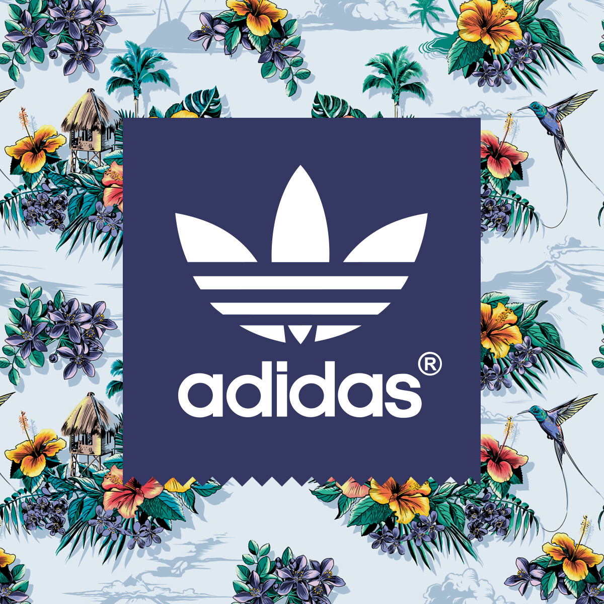 ADIDAS ORIGINALS   PRODUCT RENDERING / PATTERNS / ILLUSTRATION / POSTERS