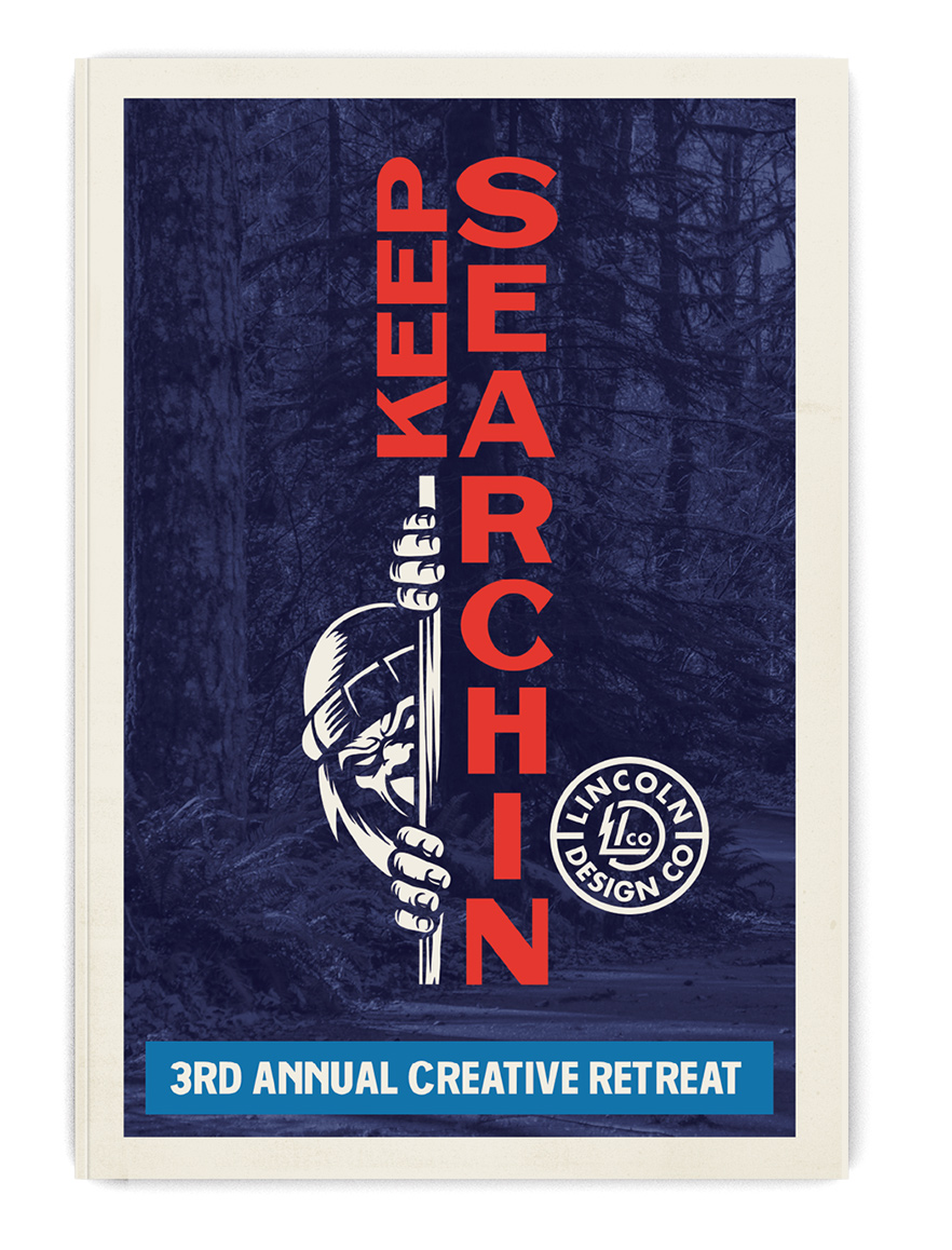3RD ANNUAL CREATIVE RETREAT ZINE