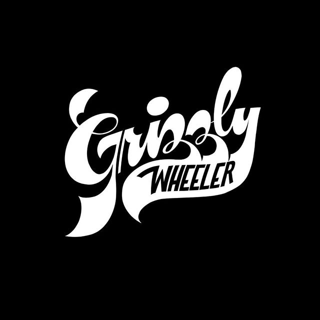 Enjoyed working on this funky type piece for @grizzlywheeler