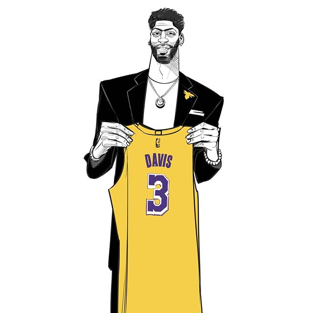 Welcome to the LAKE SHOW @antdavis23