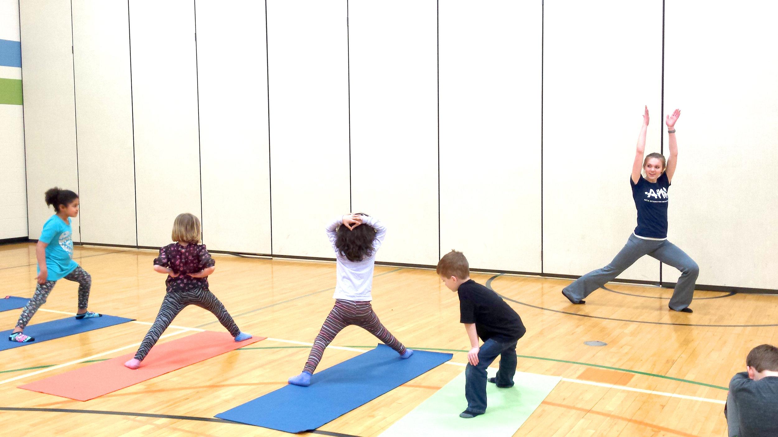 Abby Naumann  UW-Stout Early Childhood Education INTERNSHIP: Yoga, Rocky's K-2 Afterschool Program, River Heights Elementary