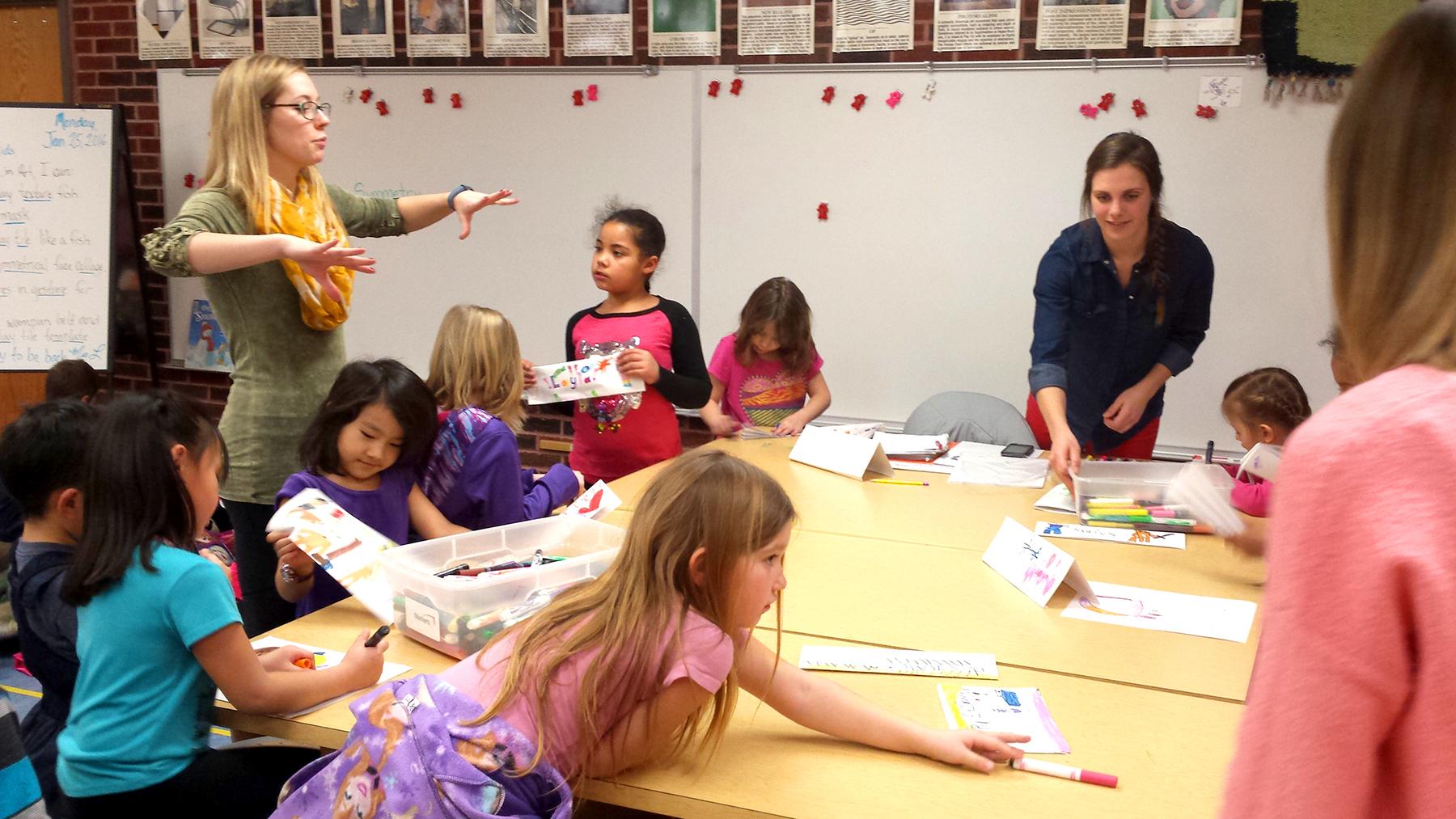 Kayla Derousseau  UW-Stout Early Childhood Education INTERNSHIPS: Rocky's K-2 Afterschool Program, River Heights Elementary