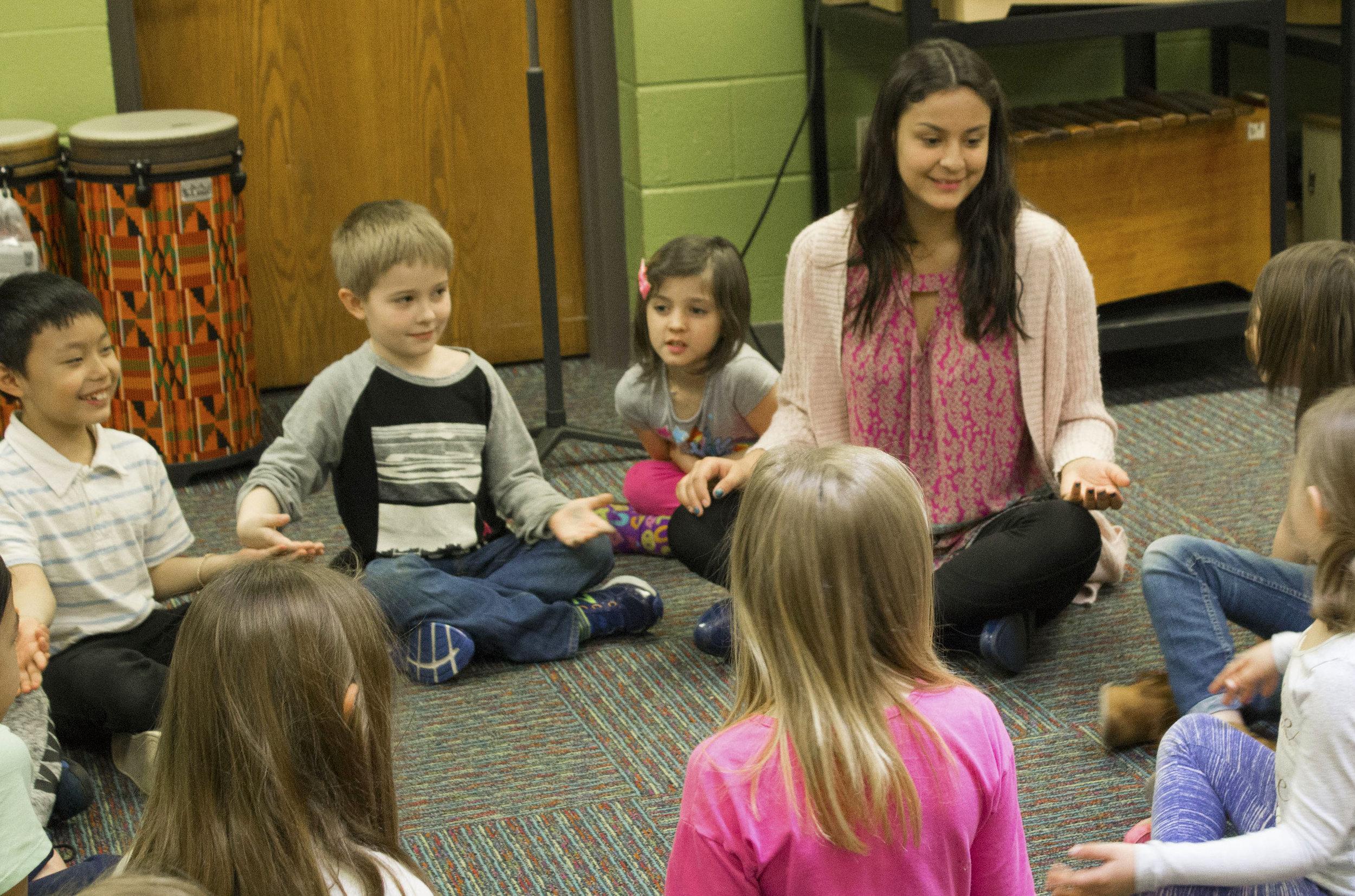 Brianna Mora  Early Childhood Education INTERNSHIP: Rocky's K-2 Afterschool program, River Heights Elementary