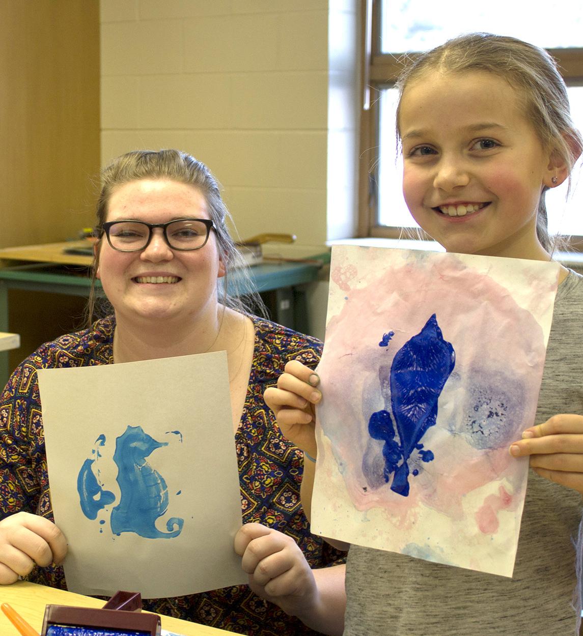 Sierra Thomfohrda  UW-Stout Art Education INTERNSHIP: Collaborative Art at the Boys and Girls Club LOCATION: River Heights Elementary