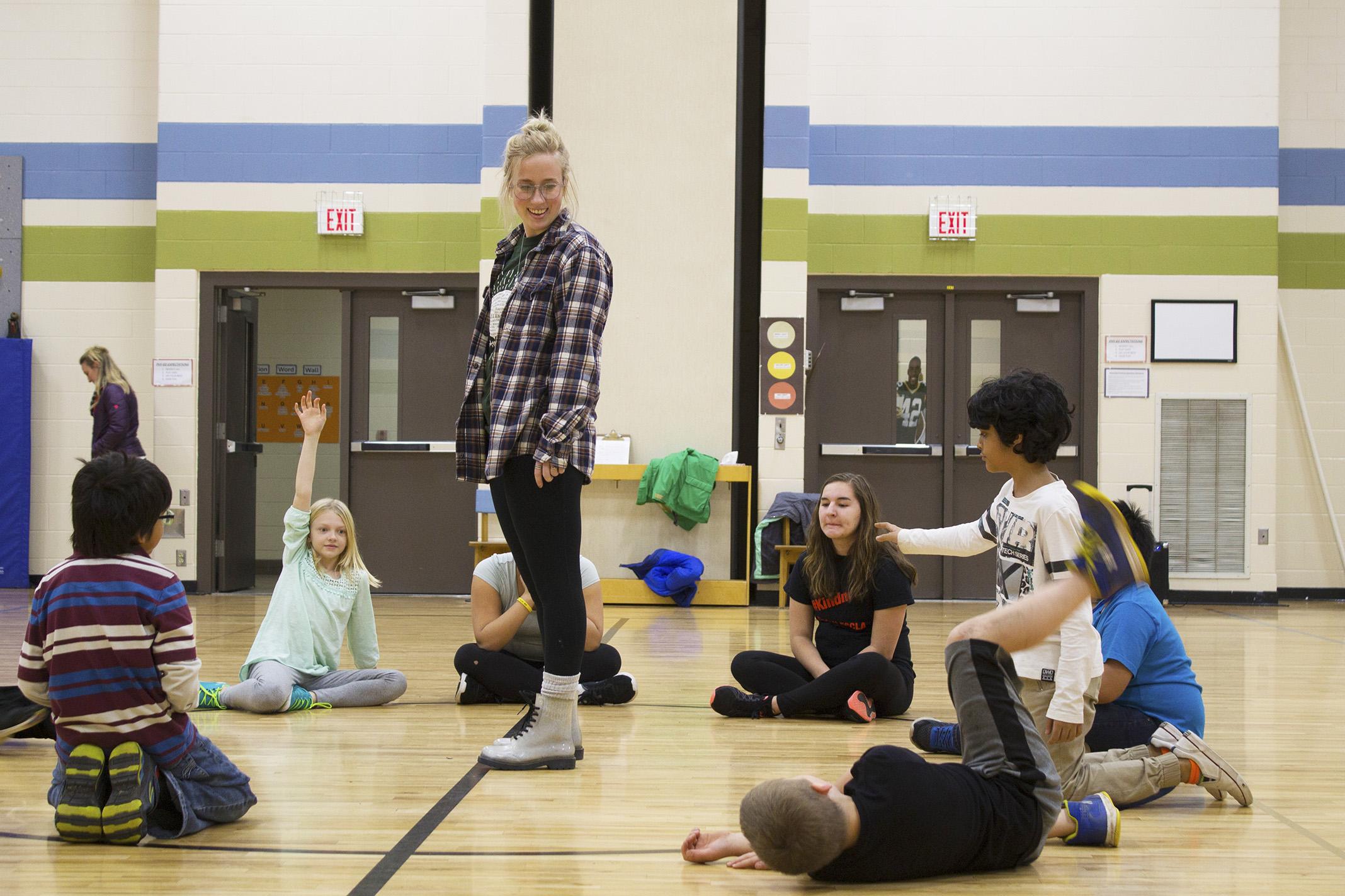 Katheryn Lund  UW-Stout Art Education INTERNSHIP: Hip Hop Dance, Boys and Girls Club
