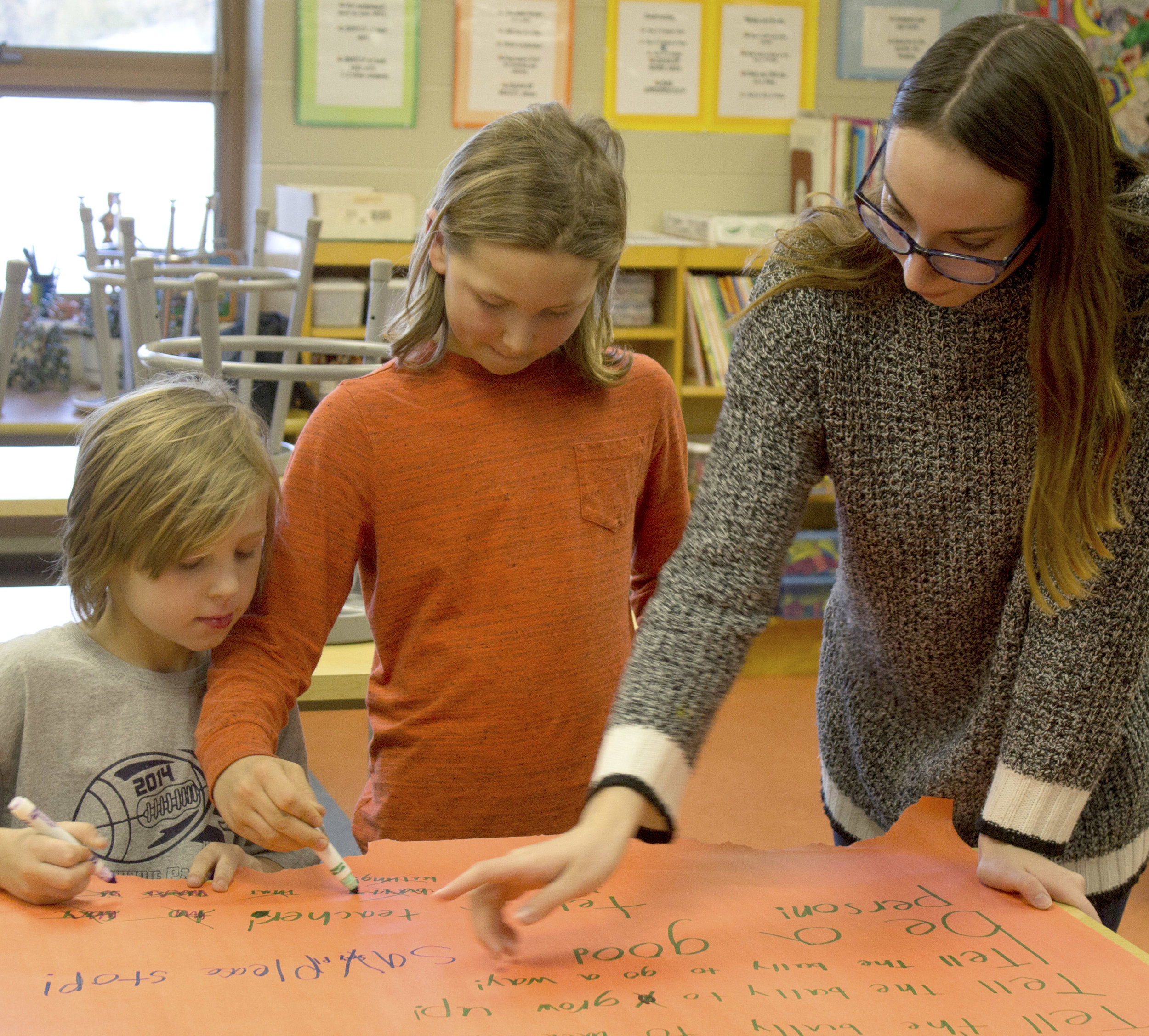 Leah Corso  UW-Stout Early Childhood Education INTERNSHIP: Making Stories Come Alive at the Boys and Girls Club LOCATION: River Heights Elementary