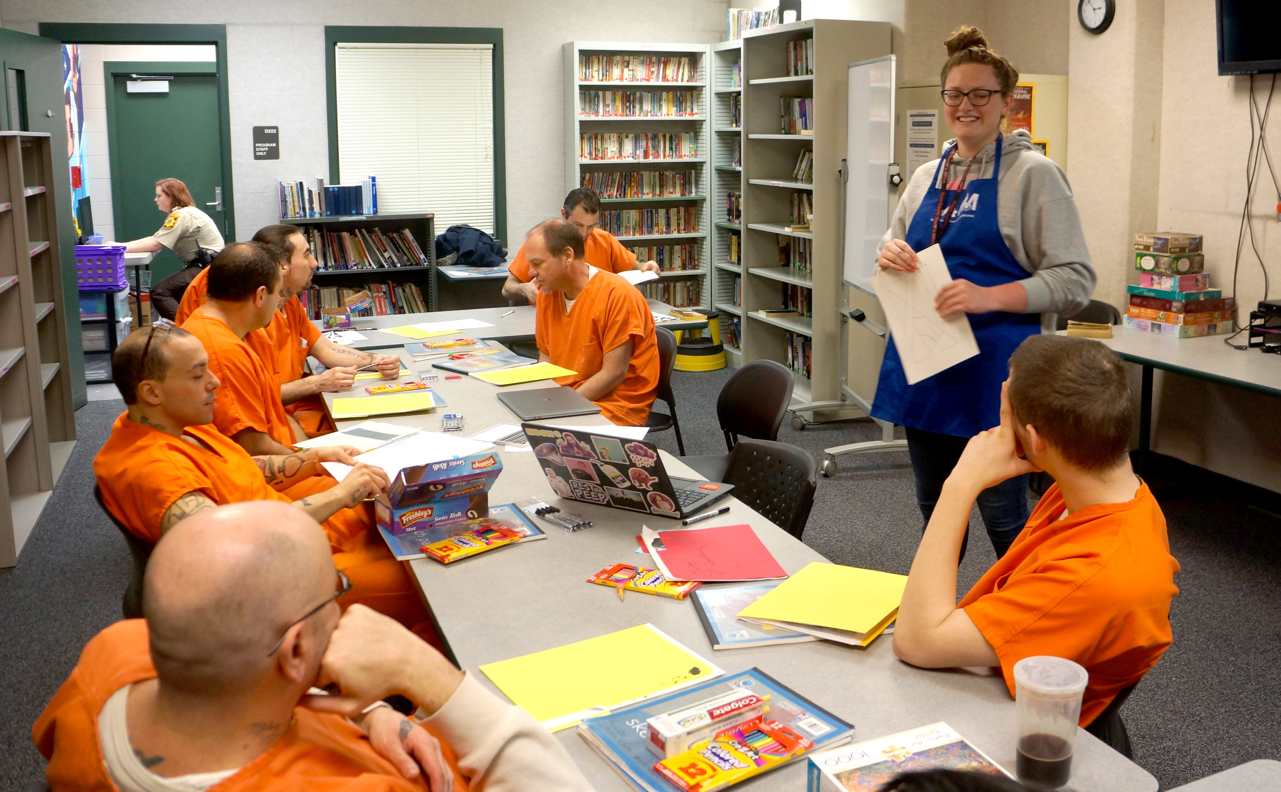 KAYLA JELLISON , UW-STOUT FAMILY AND CONSUMER SCIENCE INTERNSHIP: Art Exploration, Dunn County Jail