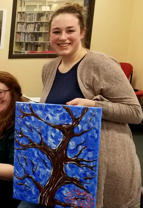 ADDY ROTH , UW-STOUT ART EDUCATION INTERNSHIPS: NAEA Painting Classes, UW-Stout