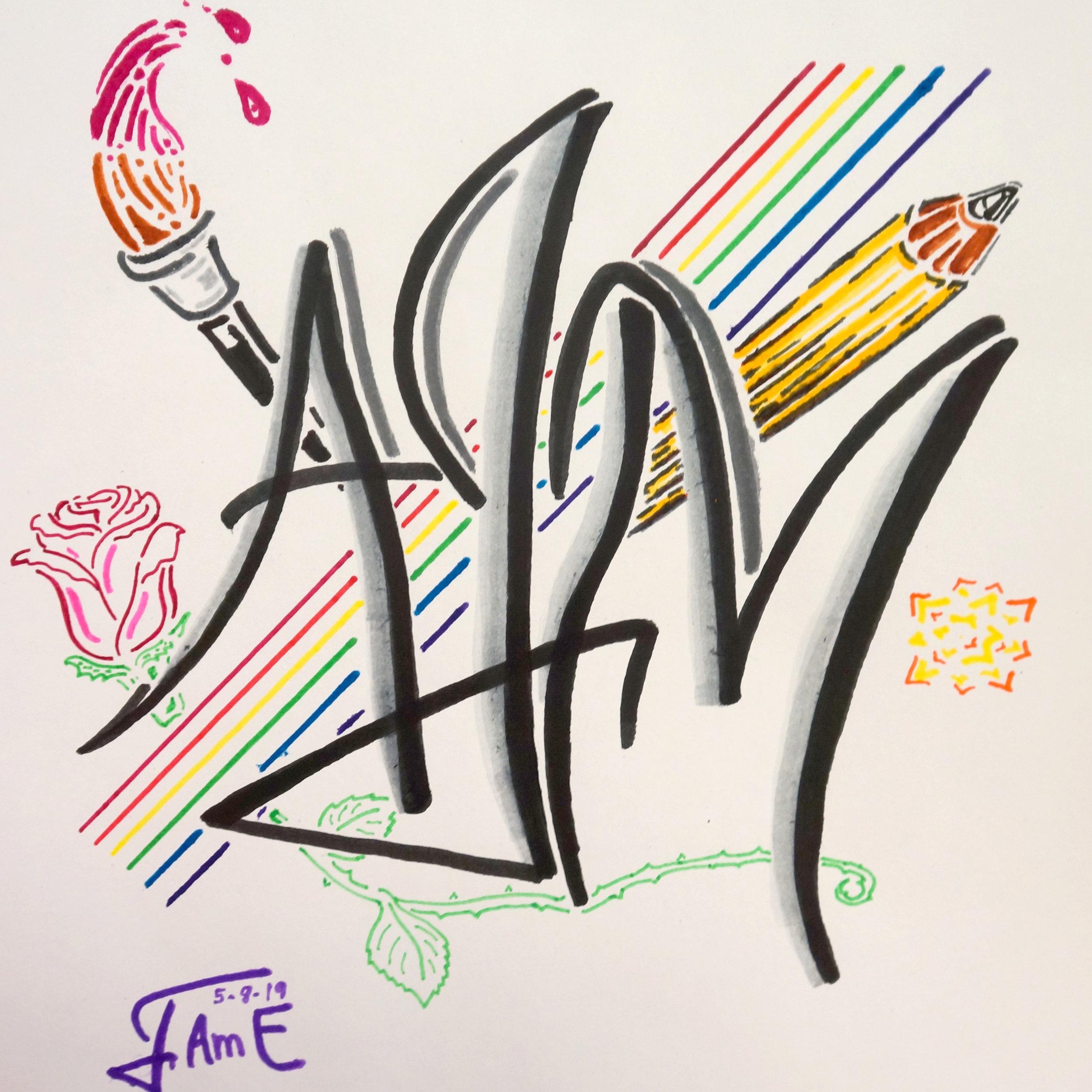 "A.I.M.  by ""I-Am-E"""