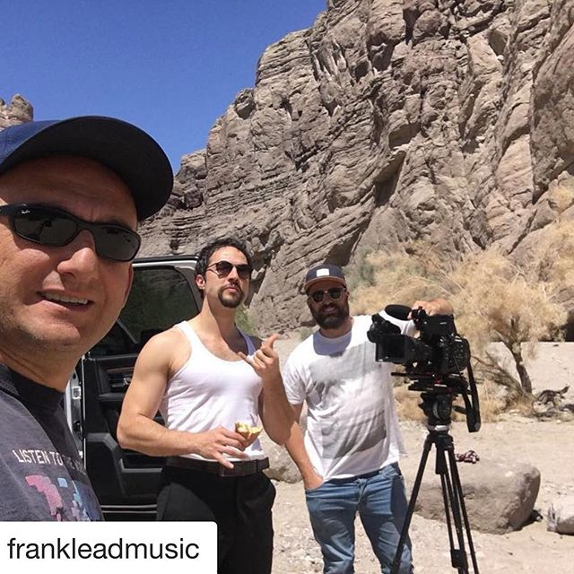 Check out our Composer @frankleadmusic and his new electronic music! Had the privilege of Directing his latest work 💪🏻 #director @loretodc