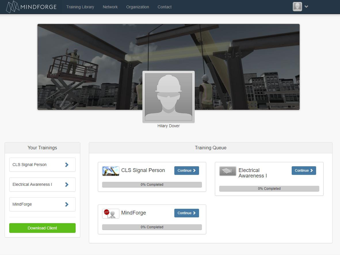 Platform Home Page