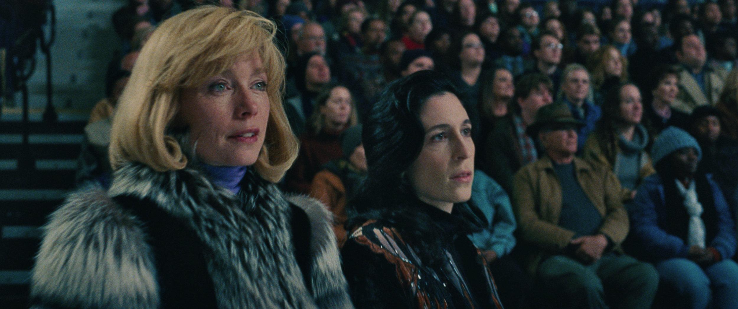 Julianne Nicholson as Diane Rawlinson (left).