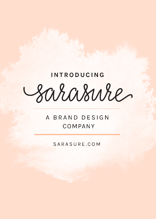 Introducing Sarasure: A brand design company