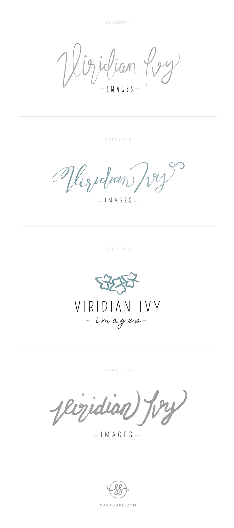 Viridian Ivy Photography Logo Concepts