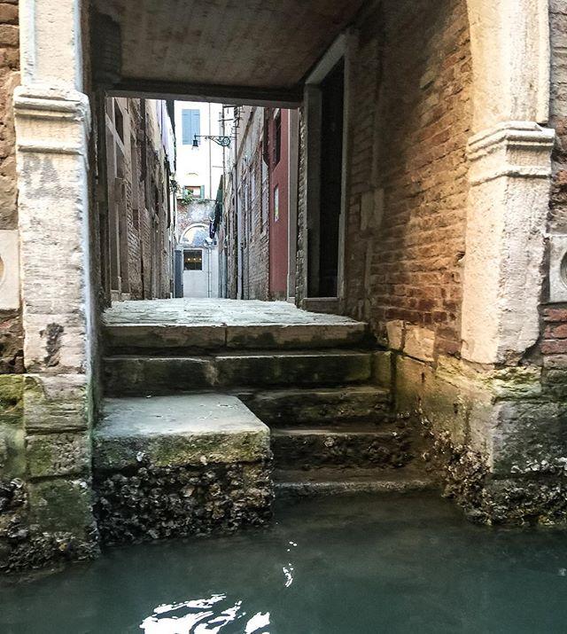 Mysterious passageways of Venice #venice #italy #travel #sinking