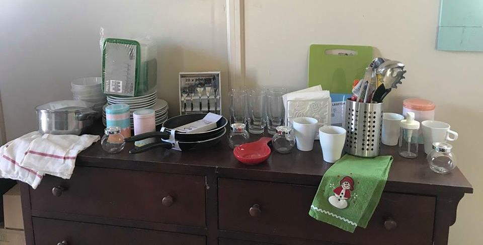 Kitchen and dining essentials.
