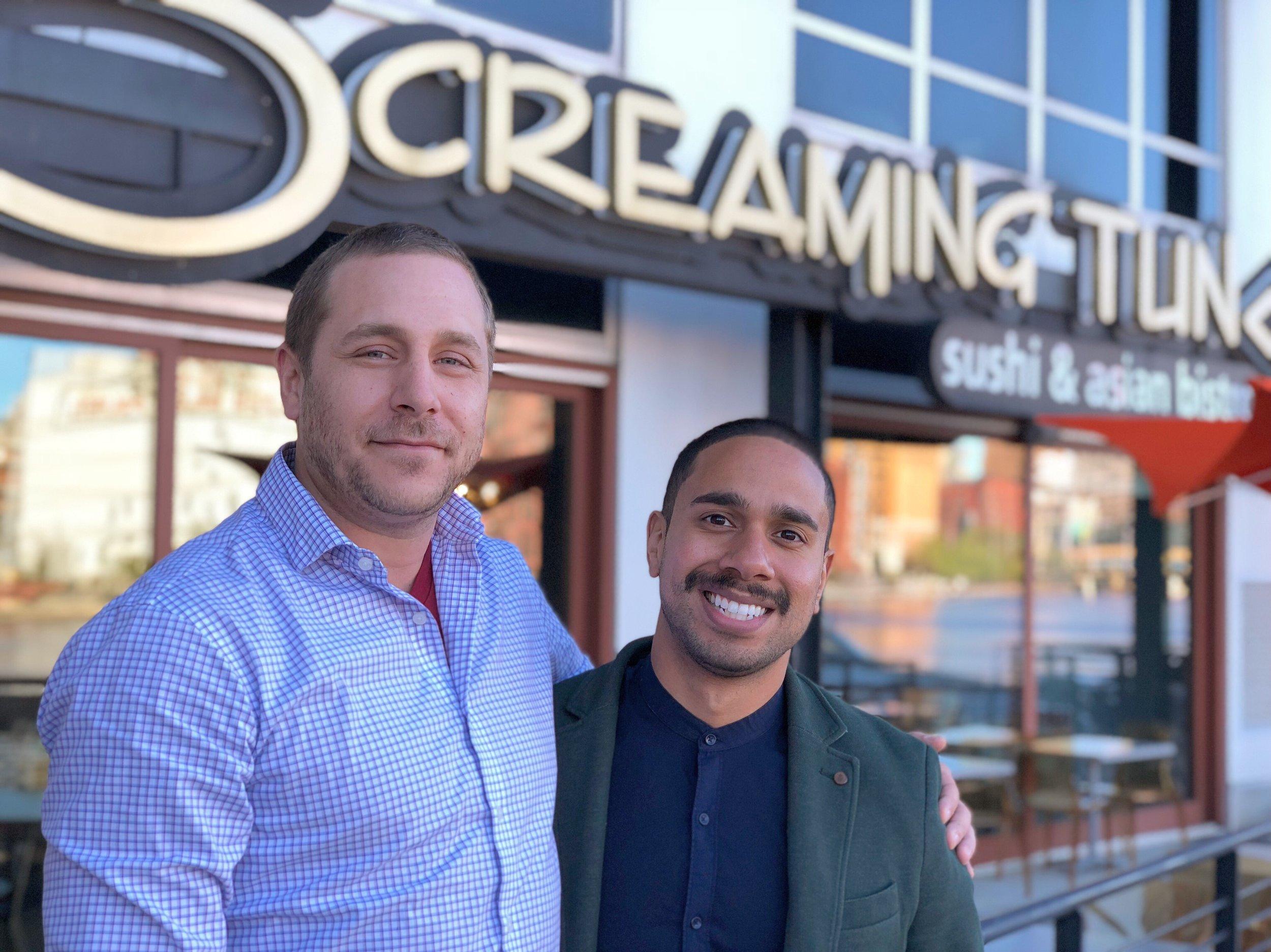 Jeff Bronstad and Cristian Vega, Owners of Screaming Tuna.jpeg