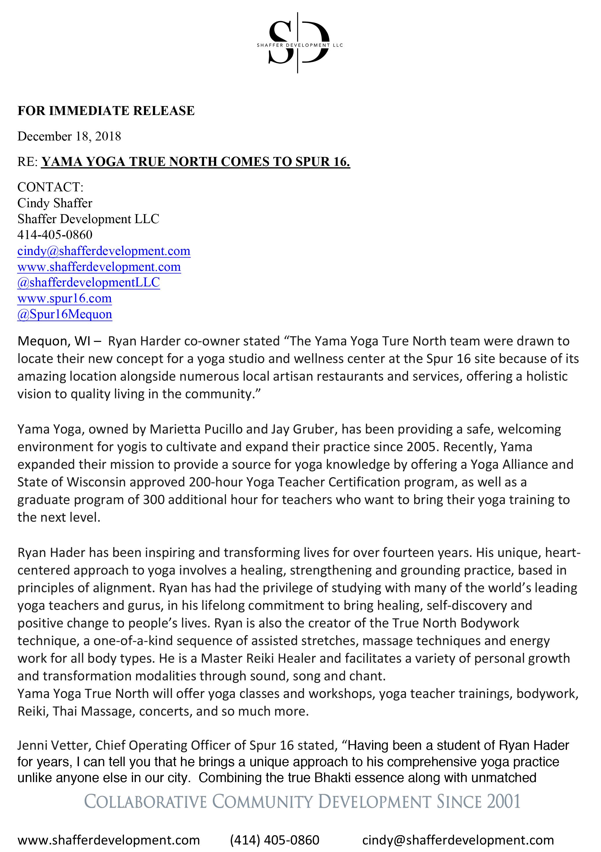 Yama Yoga True North Press Release 1.jpg