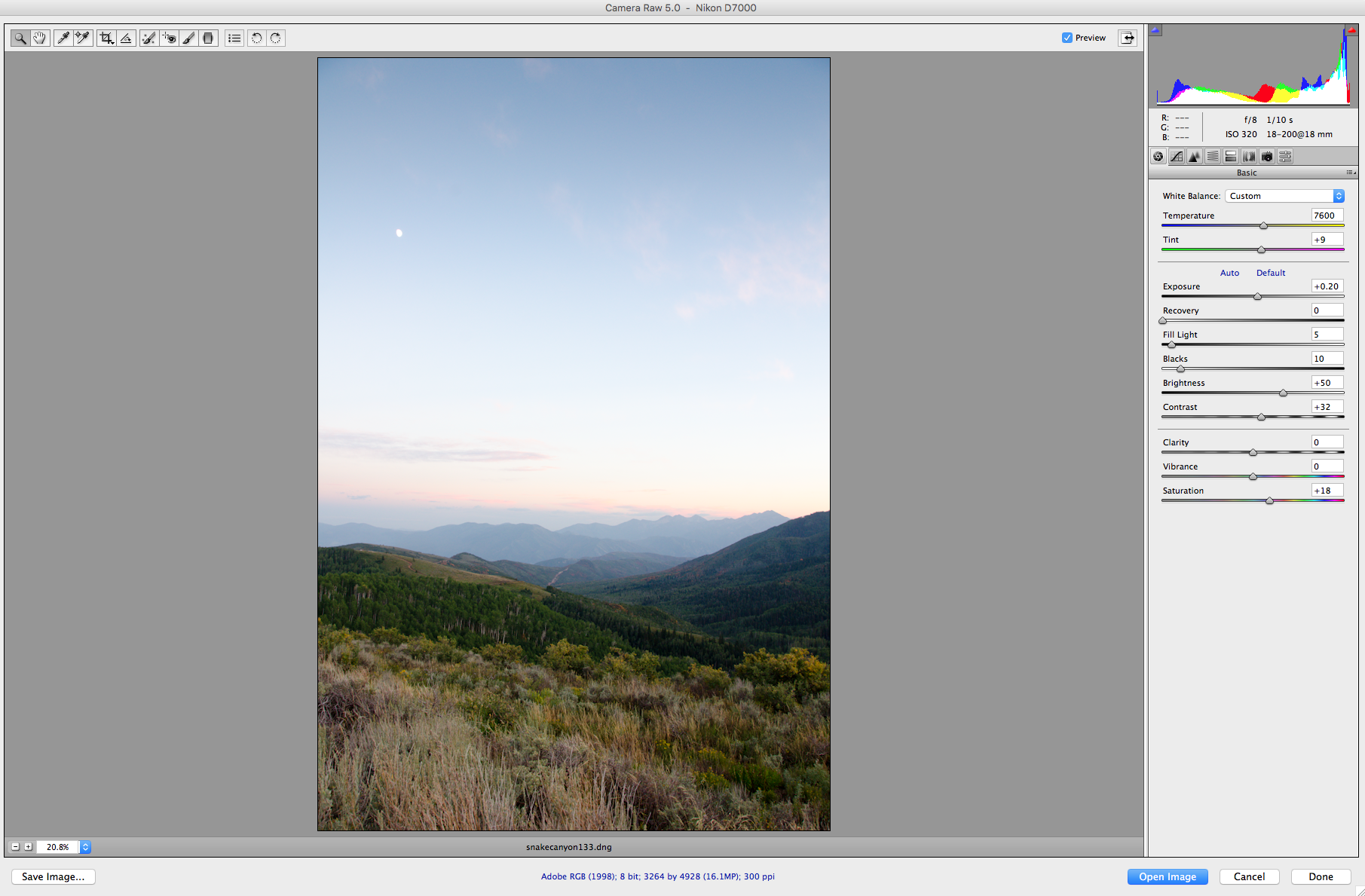 Converting Raw Files in Photoshop - www.mommatography.com