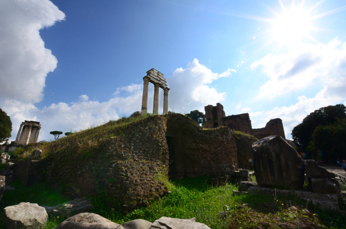 Pictures of Rome - The Roman Forum - Tips for Taking Good Travel Photos