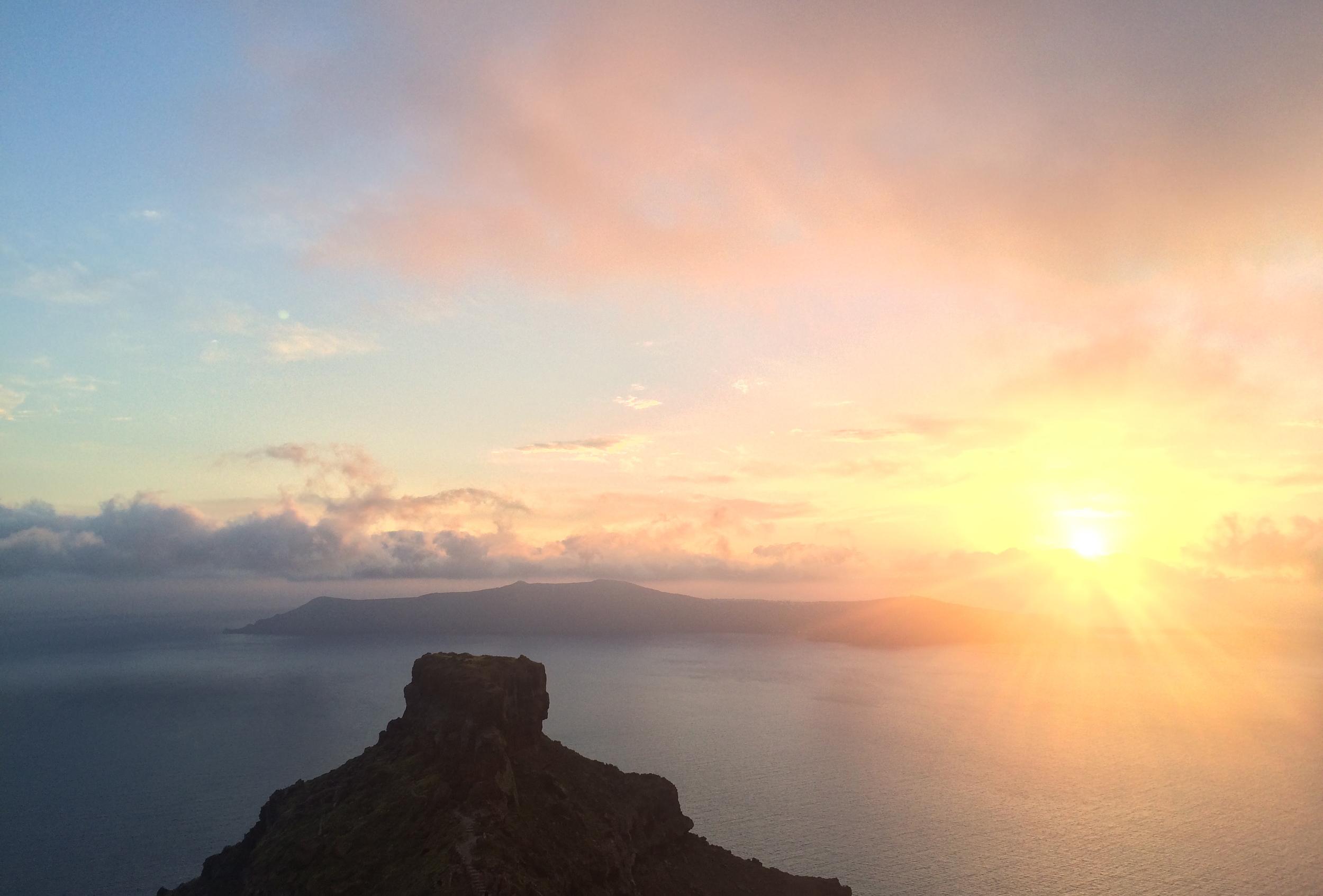 Santorini, photo authors own