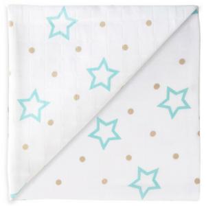 5907 white Stars & Points