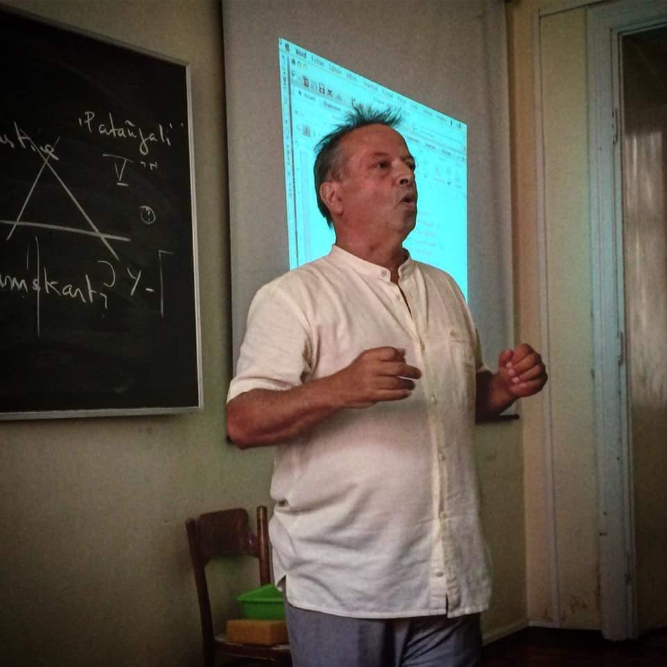 Michel Angot (photo by Matylda Ciołkosz)