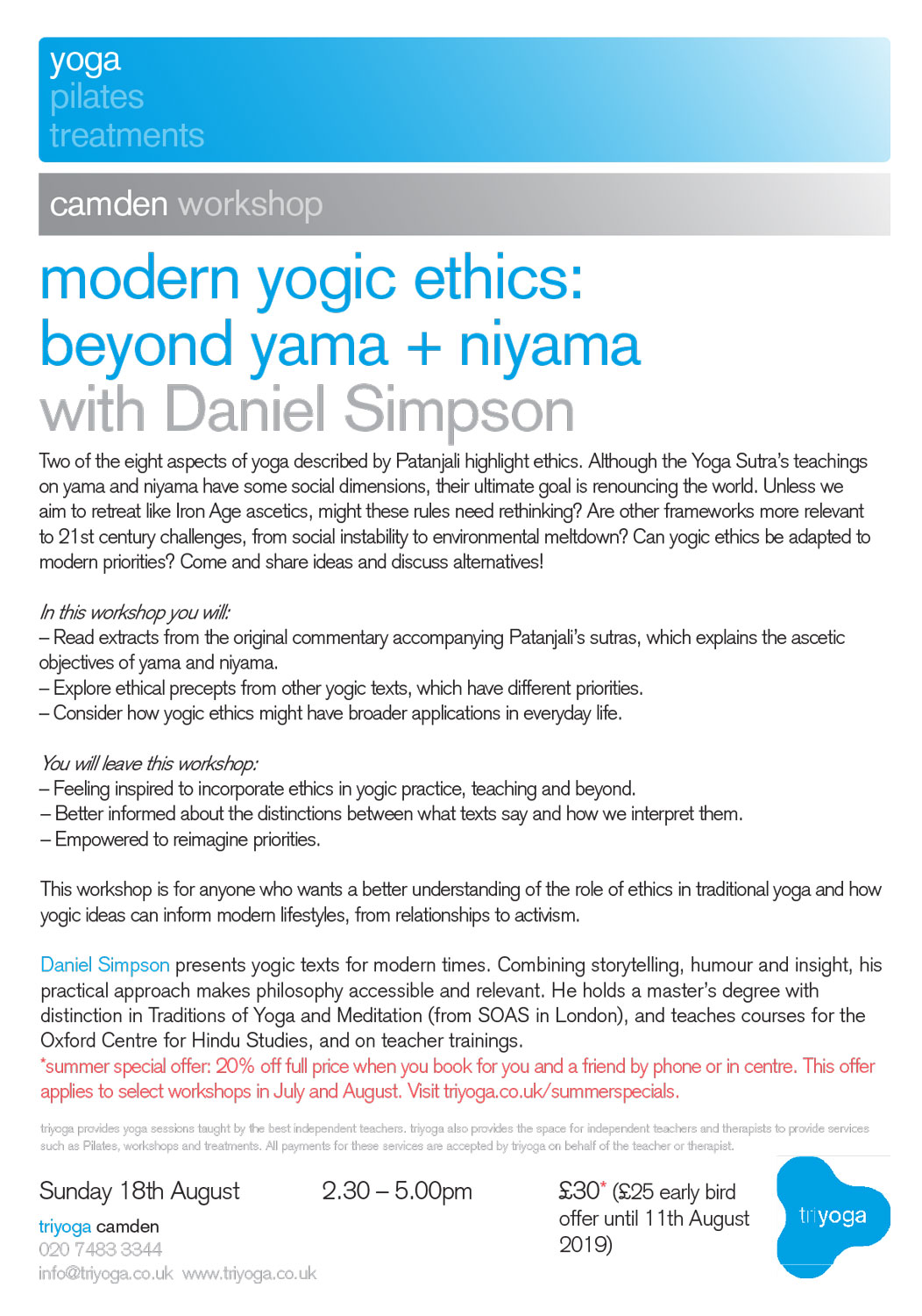 Book now at triyoga.co.uk