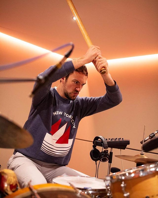"~ ""as drummers, it is very important for us to work on touch; to play with delicacy"" - CD . . . 📸: @ropofilms ~"