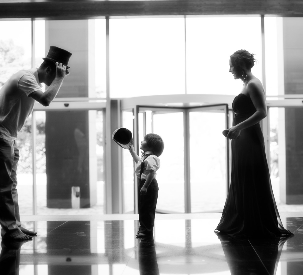 One of a set of images taken at Vanessa and Thor's destination Wedding in the beautiful Porto Montenegro. Young boy with a stylish flat cap and top hat. Wedding Photography By Matt Porteous
