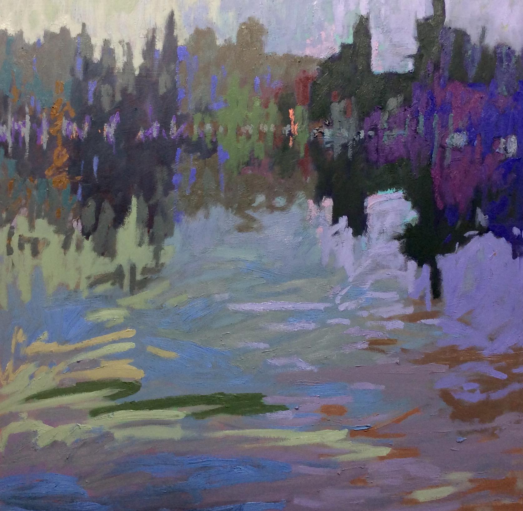 Jane Schmidt DEEP REFLECTIONS 36 x 36 oil on wood.jpg