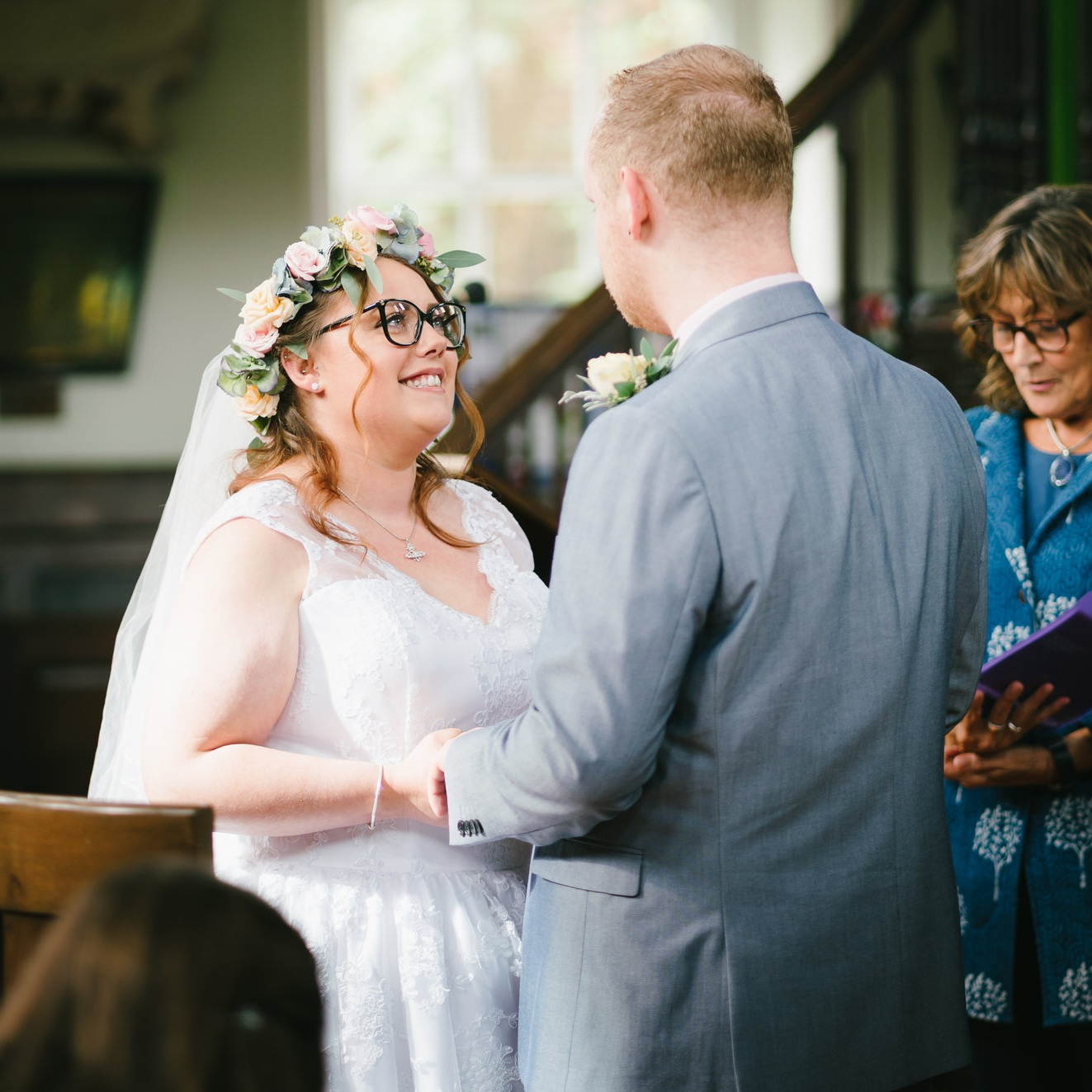 Laura and SteveThe Octagon Chapel -