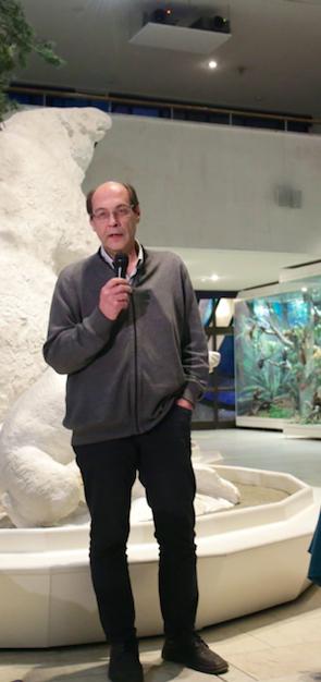 Директор Центра охраны дикой природы Алексей Зименко