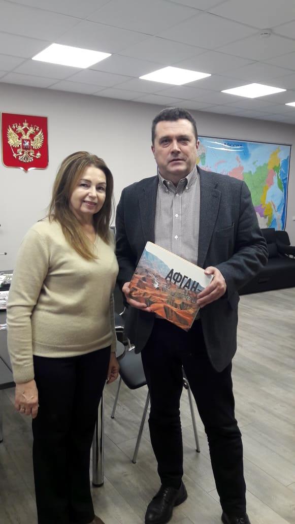 С председателем Союза журналистов России Владимиром Соловьевым