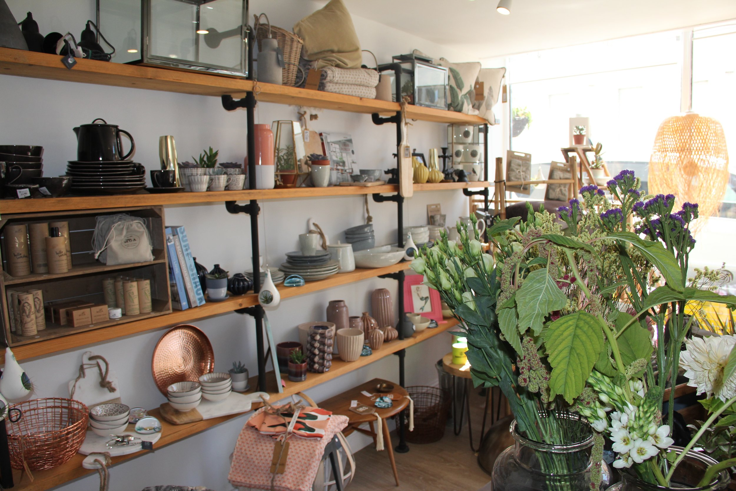 We have lots of beautiful homewares on line and even more in store.