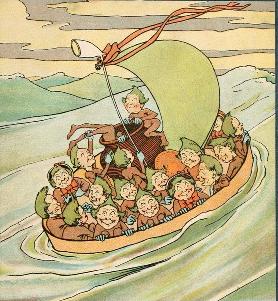 Illustration: Leslie Brooke, from Edward Lear's The Jumblies