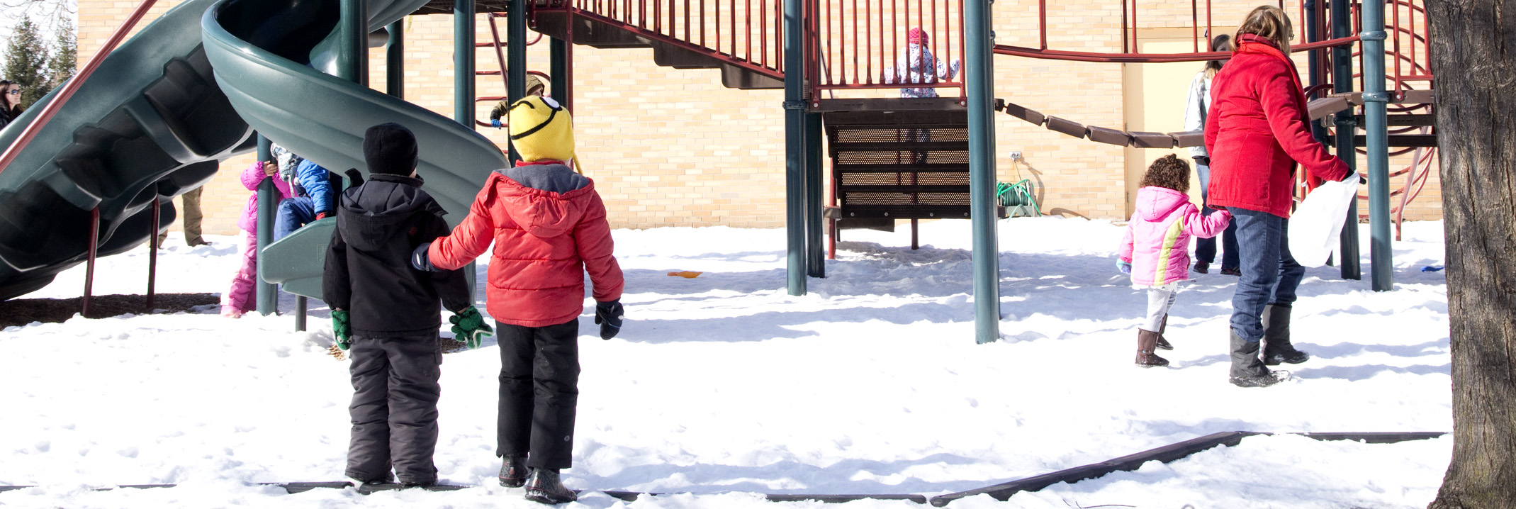 During the After-School program, children spend manyafternoons outside.
